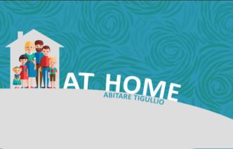 """""""At Home"""", progetto rifinanziato dalla compagnia San Paolo"""