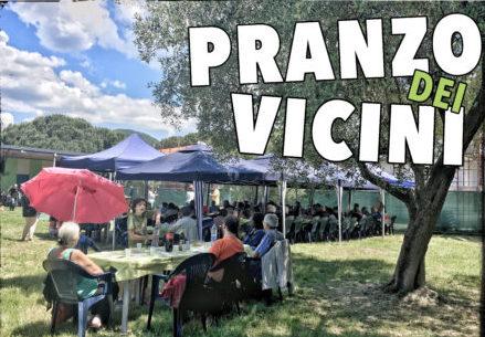 Pranzo dei Vicini, festa rimandata a domenica 26