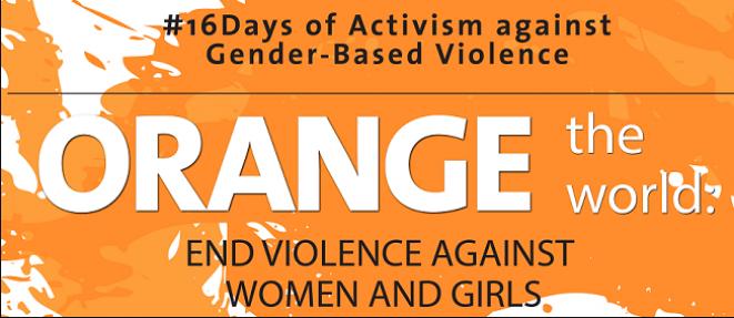 """""""ORANGE THE WORLD"""" contro la violenza sulle donne"""